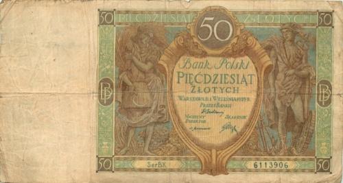 50 злотых 1929 года (Польша)