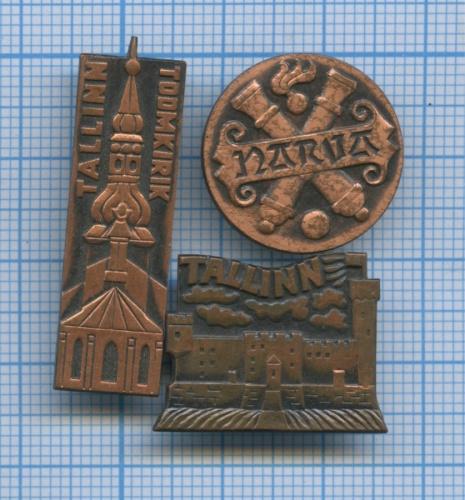 Набор значков (Эстония)