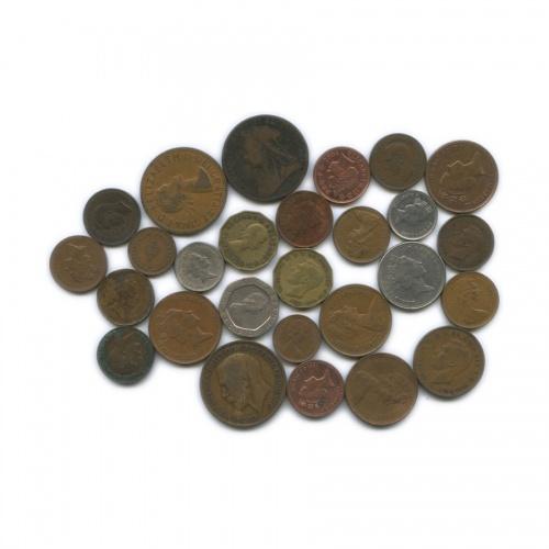 Набор монет (разные страны) (Великобритания)