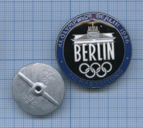 Знак «XI. Olympiade, Berlin 1936» (копия) (Германия (Третий рейх))