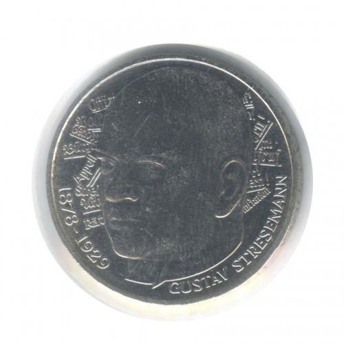5 марок — 100 лет содня рождения Густава Штреземана (вхолдере) 1978 года D (Германия)