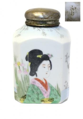 Чайница (клеймо, 15 см) (Китай)