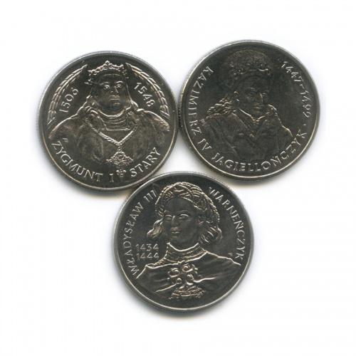 Набор монет 10000 злотых, 20000 злотых - Польские короли 1992-1994 (Польша)
