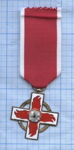 Медаль «Заслужбу впожарной команде», Третий рейх (копия)