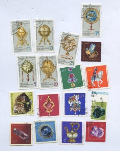 Набор почтовых марок (Германия, СССР)
