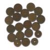 Набор монет 10 пенни (разные года, 20 шт.) (Финляндия)