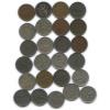 Набор монет 1 марка (разные года), 25 шт (Финляндия)