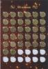Набор монет 10 копеек, 50 копеек (вальбоме) М, СП (Россия)