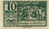 70 геллеров (нотгельд) 1920 года (Австрия)