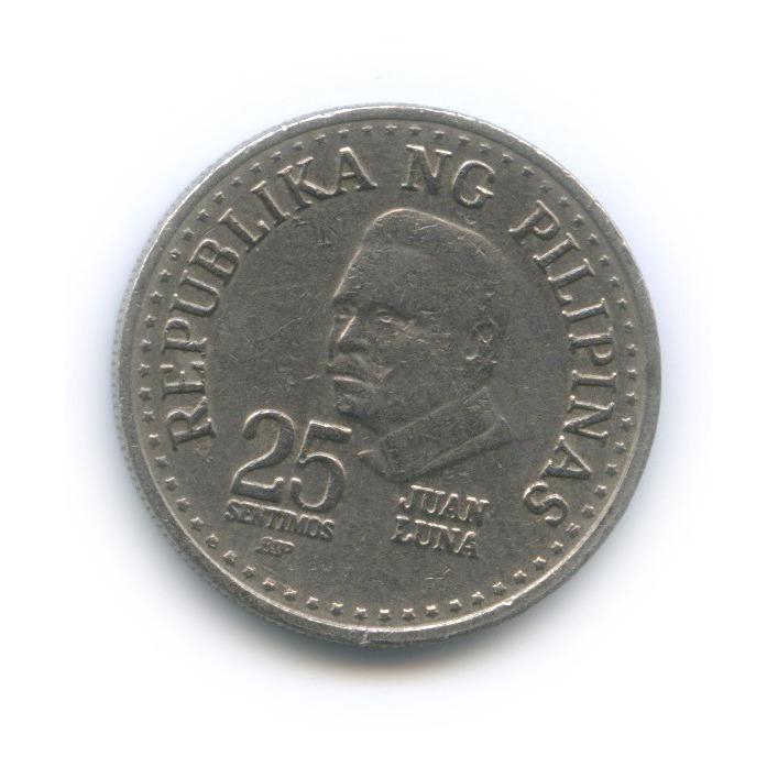 25 сентимо 1982 года BSP (Филиппины)