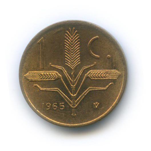 1 сентаво 1965 года (Мексика)