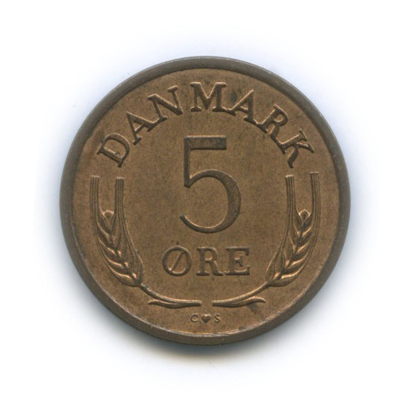 5 эре 1964 года (Дания)