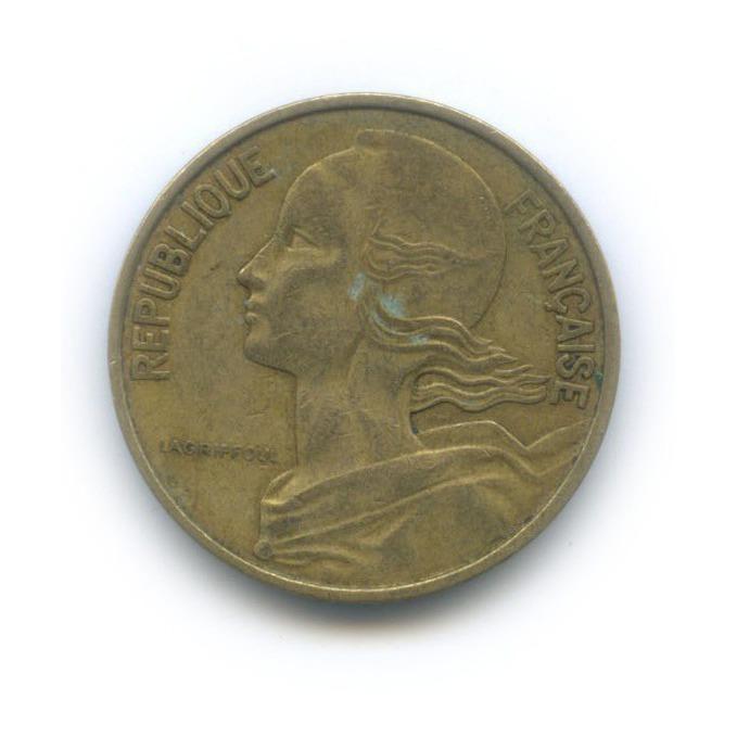 10 сантимов 1963 года (Франция)