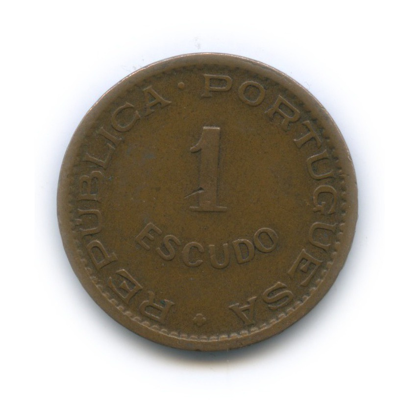 1 эскудо, Мозамбик 1965 года (Португалия)