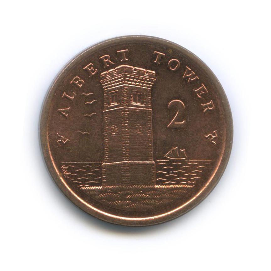 2 пенса, Остров Мэн 2011 года