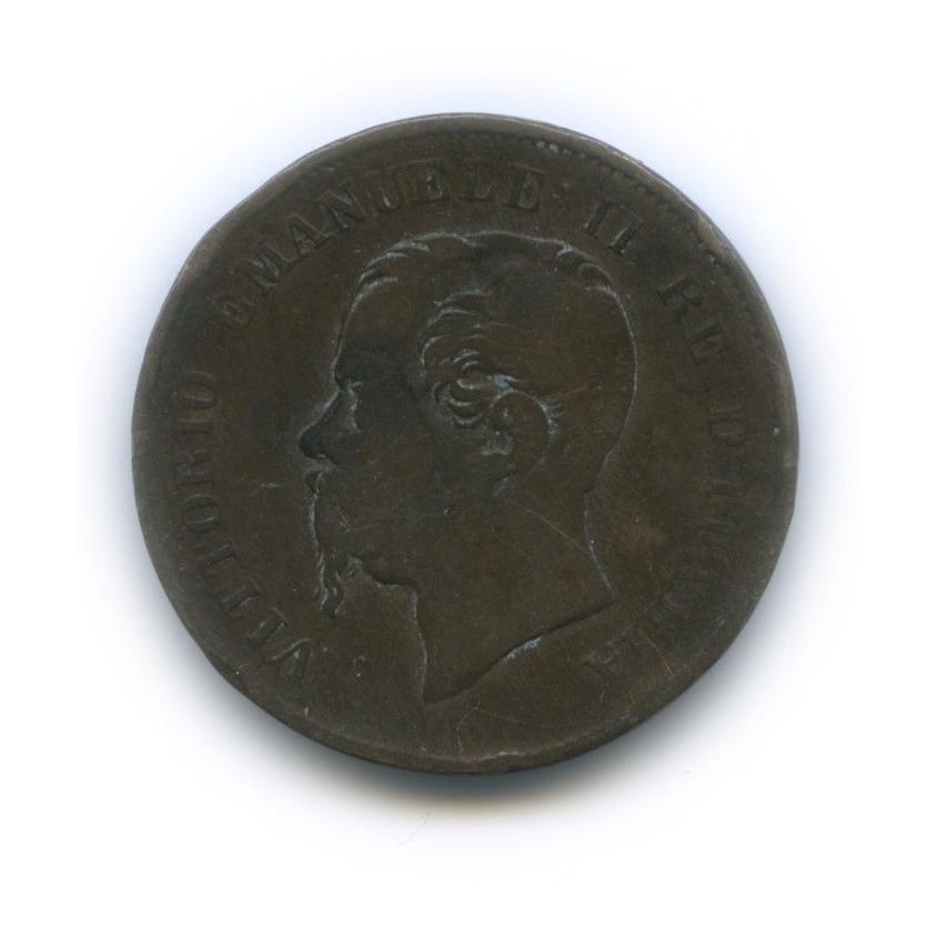 5 чентезимо -  Виктор Эмануэль II 1861 года (Италия)