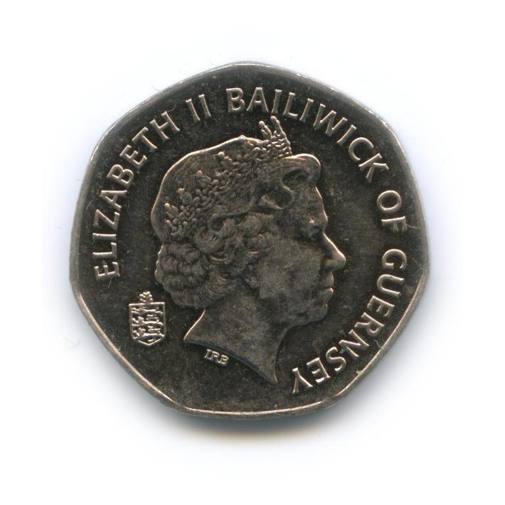 20 пенсов, Гернси 2009 года