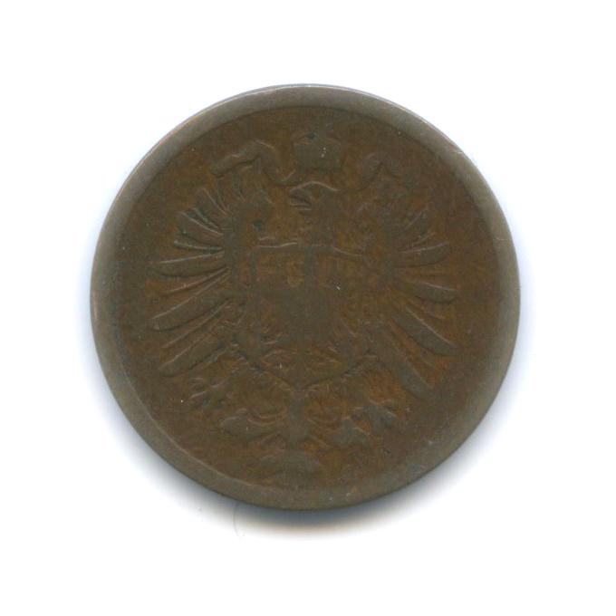 2 пфеннига 1876 года (Германия)