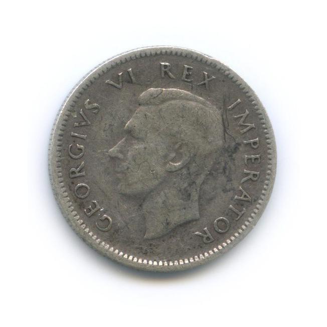 6 пенсов 1944 года (ЮАР)