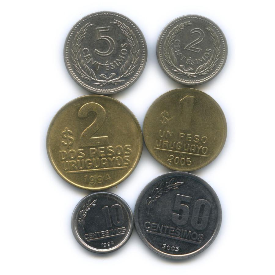 Набор монет (Уругвай)