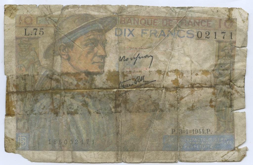 10 лир 1944 года (Франция)