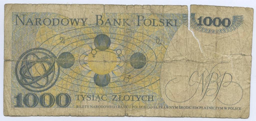 1000 злотых 1979 года (Польша)