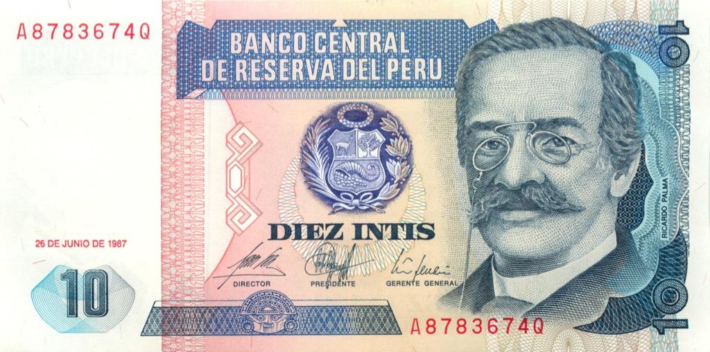 10 инти 1987 года (Перу)