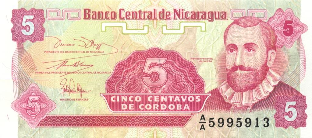 5 кордоба (Никарагуа)
