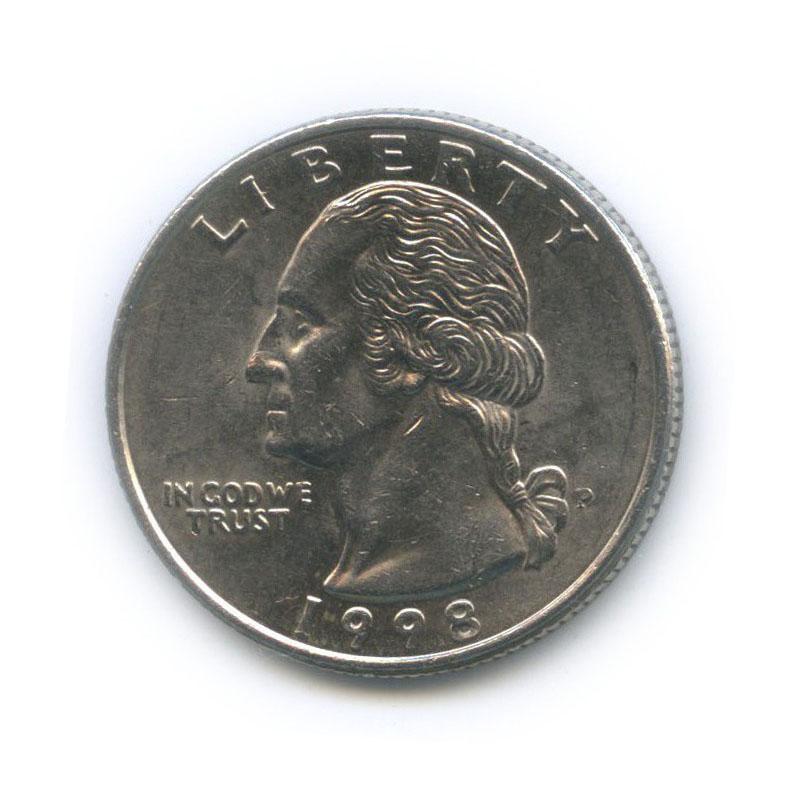 25 центов (квотер) 1998 года P (США)