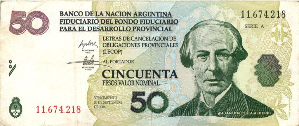 50 песо 2006 года (Аргентина)