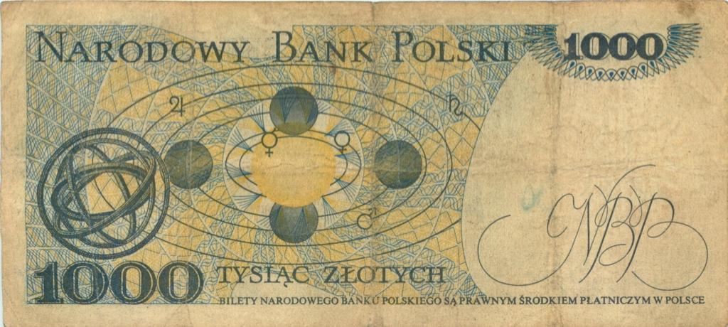 1000 злотых 1975 года (Польша)