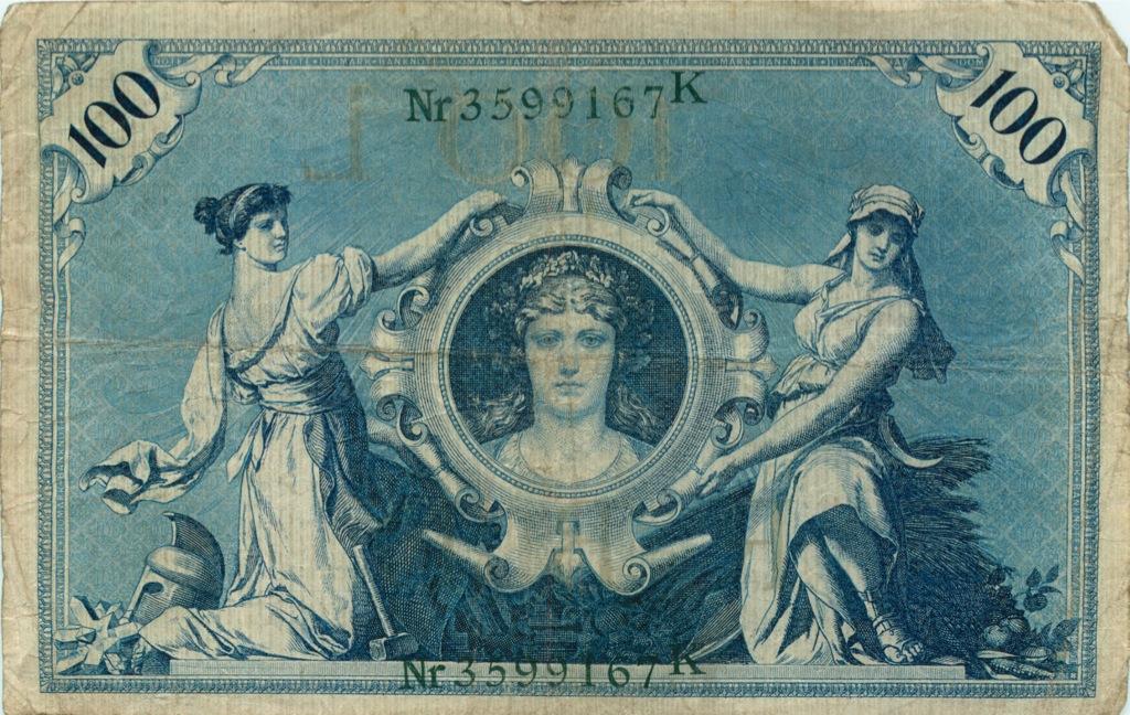 100 марок 1908 года (Германия)