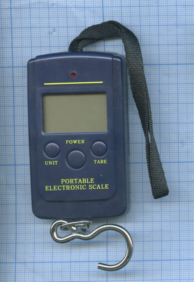 Весы электронные «Portable Electronic Scale» (40 кг/10 г)