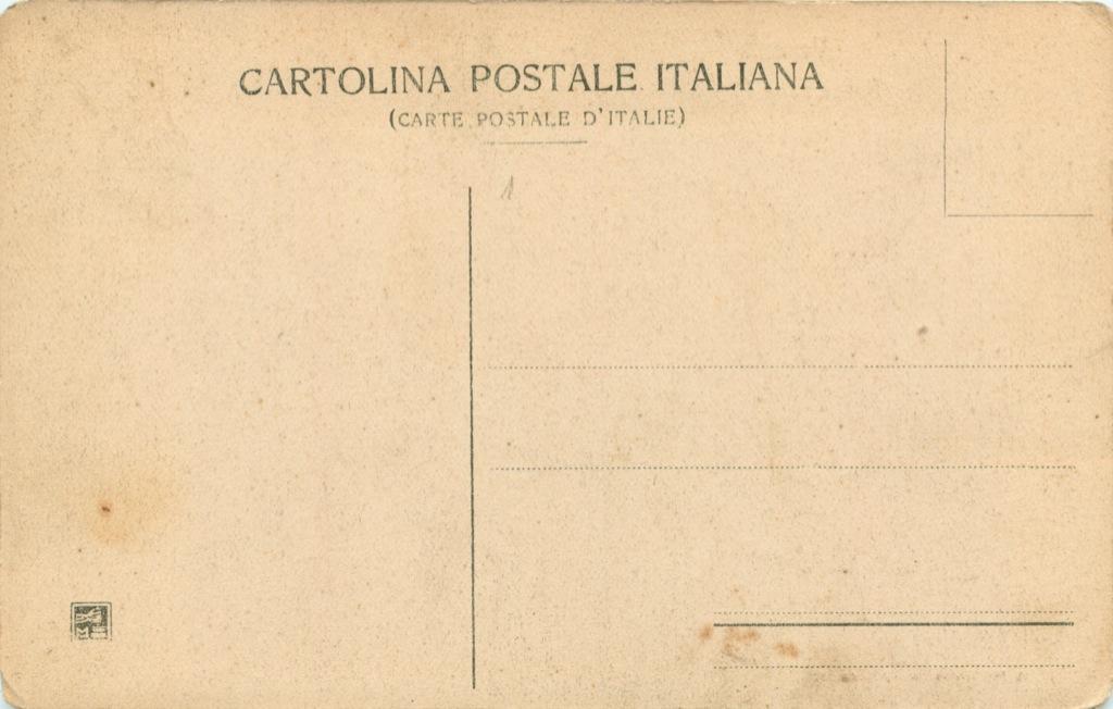 Карточка почтовая «Venezia - Ponte della Paglia» (Италия)