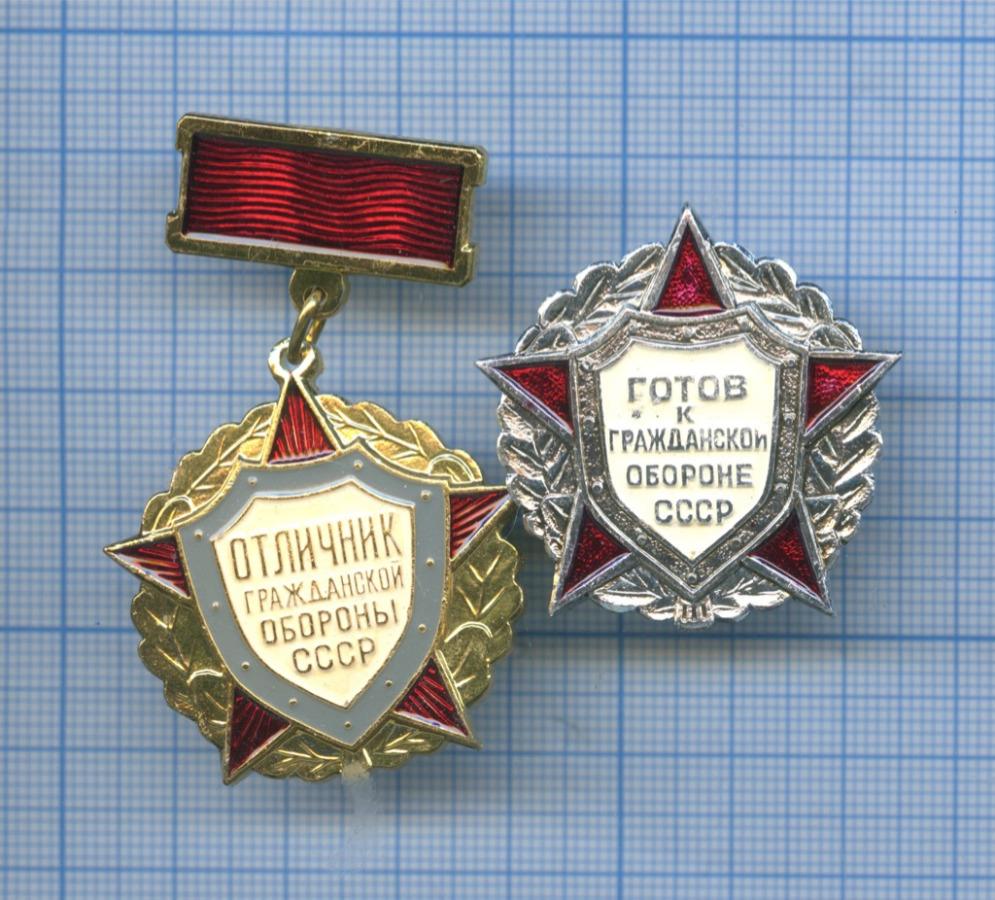 Набор знаков «Гражданская оборона» (СССР)
