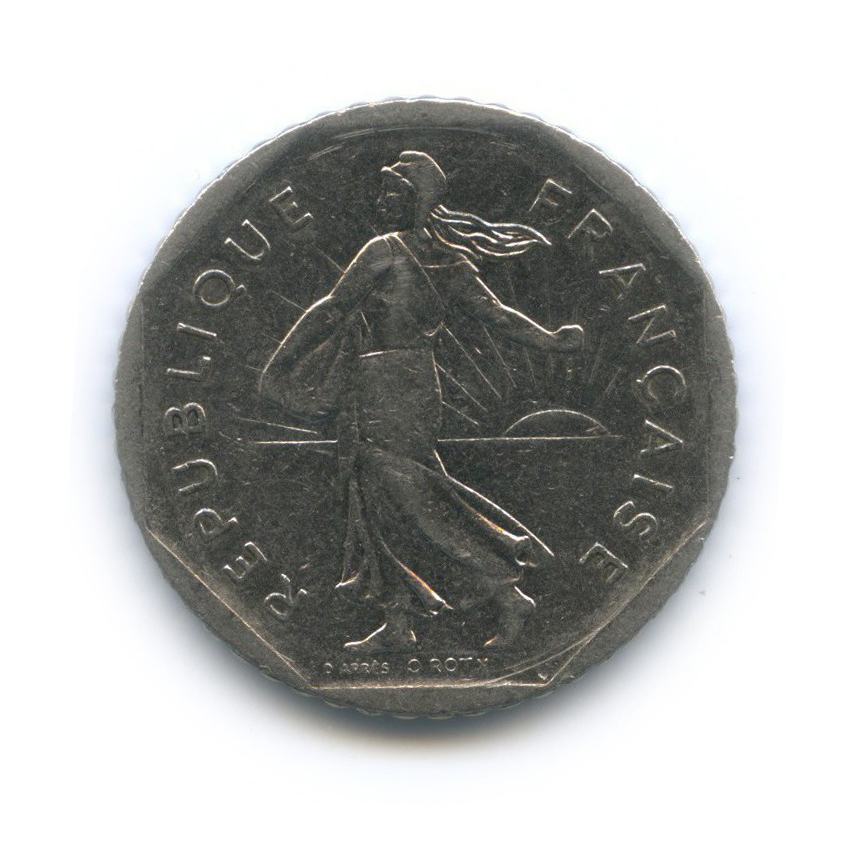 2 франка 1979 года (Франция)