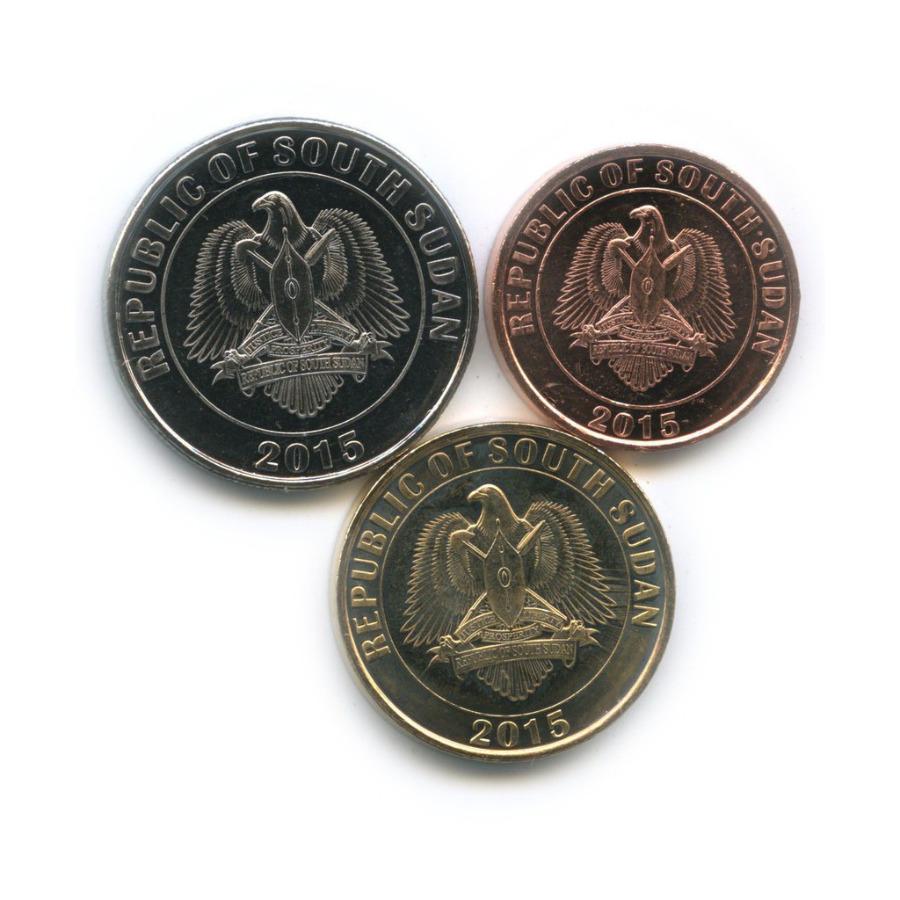 Набор монет (Южный Судан) 2015 года