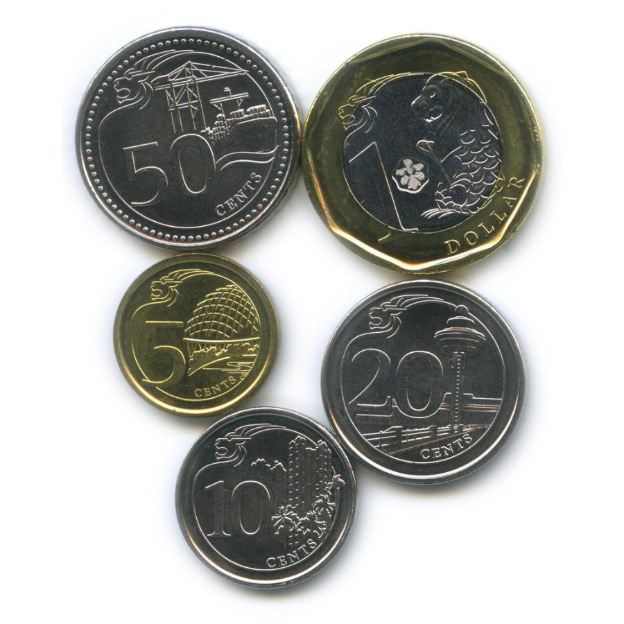 Набор монет 2013 года (Сингапур)
