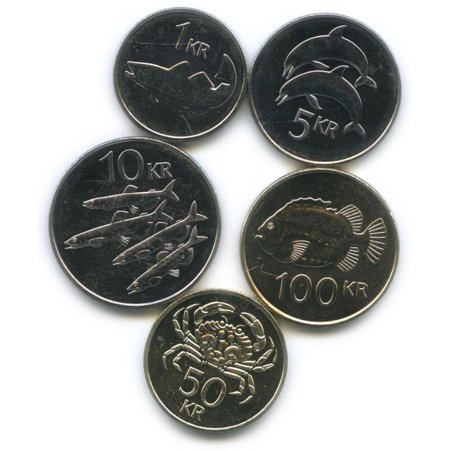 Набор монет (Исландия)