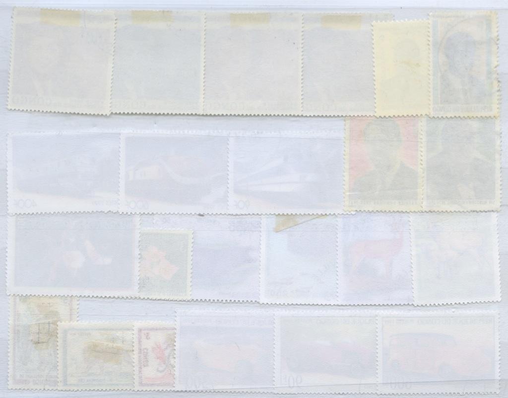 Набор почтовых марок (Конго)