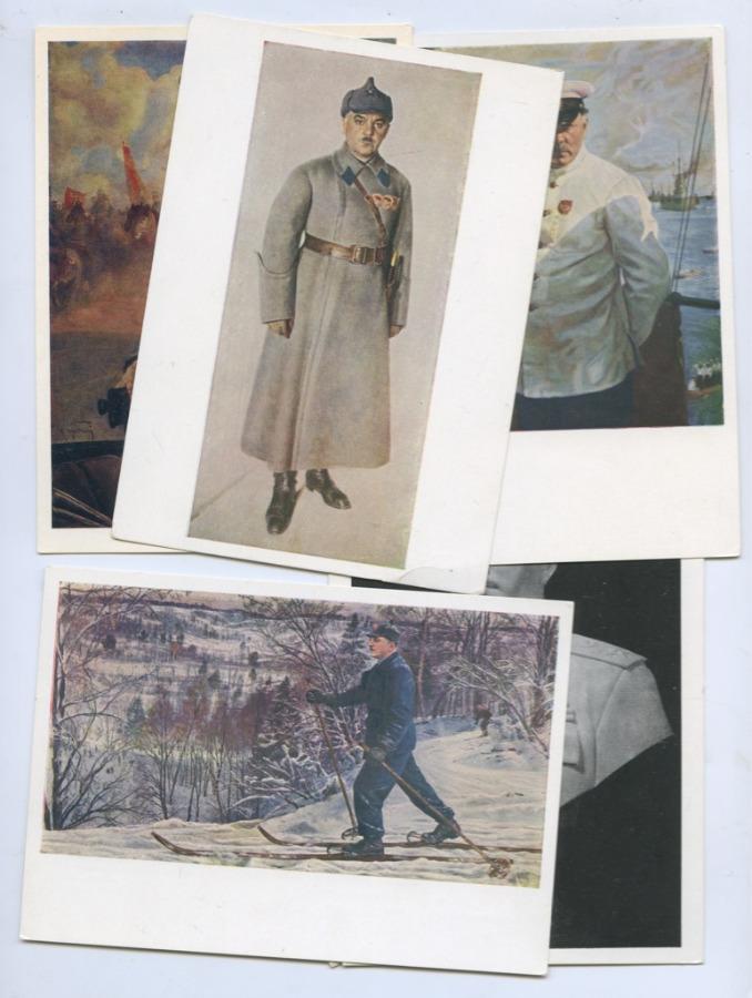 Набор открыток (5 шт.) (СССР)