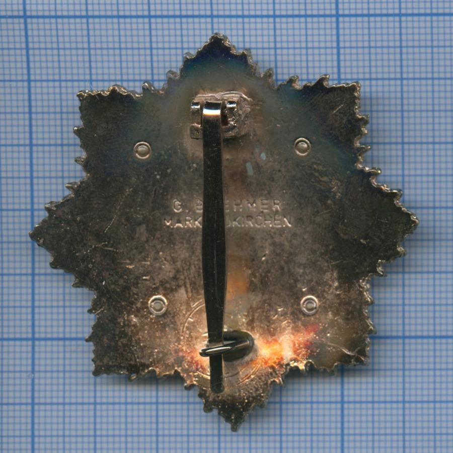 Медаль «Орден Германского креста взолоте» (копия), крепеж сломан (Германия (Третий рейх))