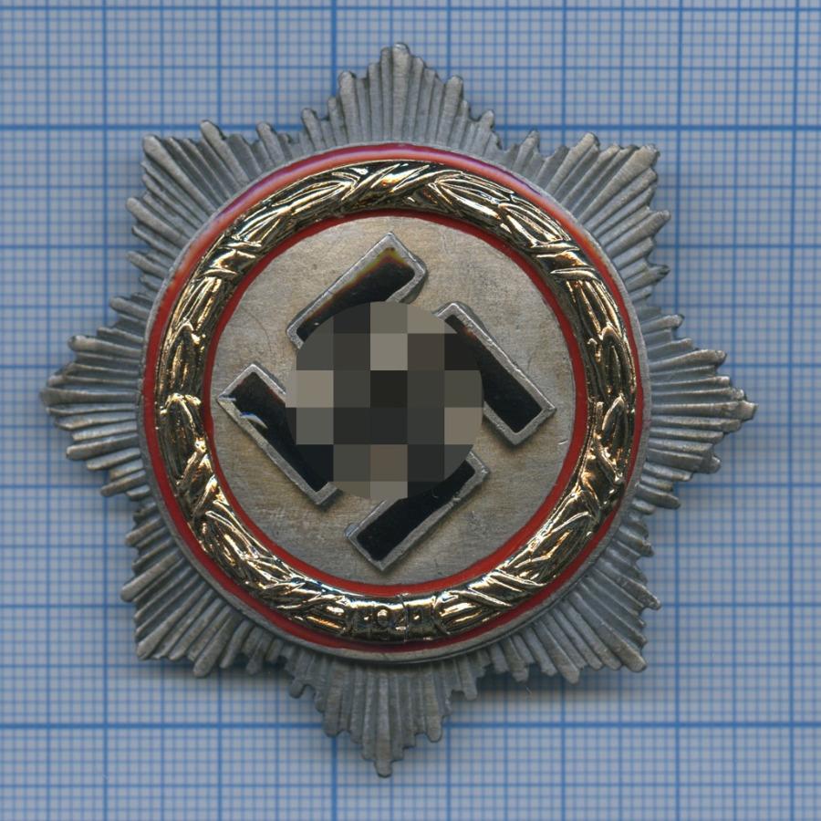 Знак «Орден Германского креста всеребре» (копия) (Германия (Третий рейх))