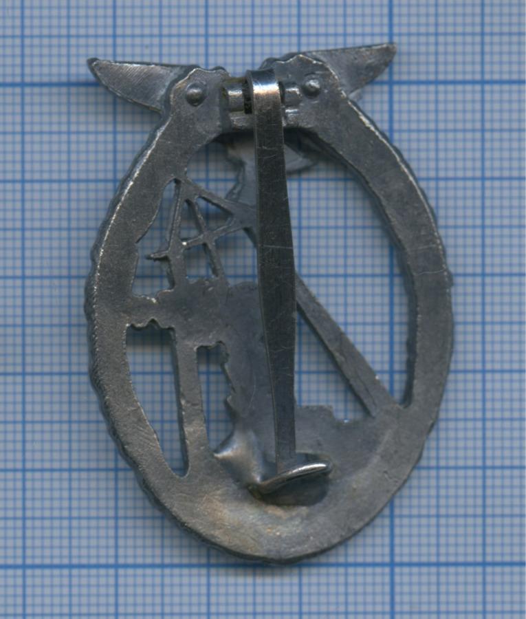 Знак нагрудный «За морской бой Люфтваффе» (копия) (Германия (Третий рейх))