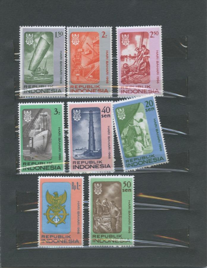 Набор почтовых марок (Индонезия)