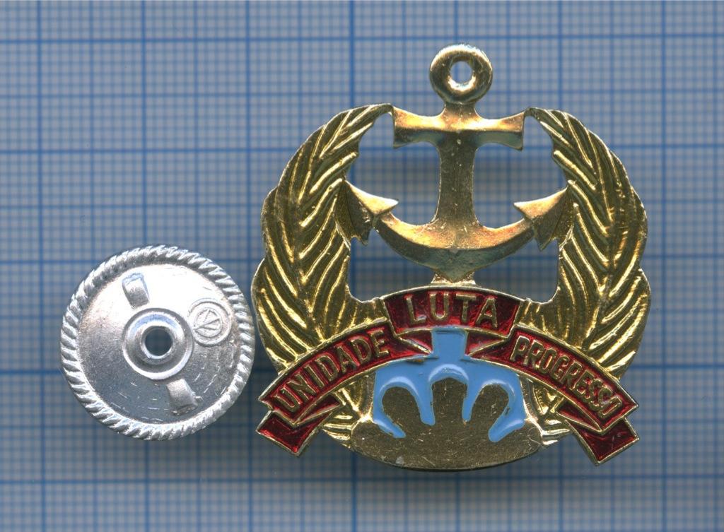 Знак «Unidade Luta Progresso» (СССР)