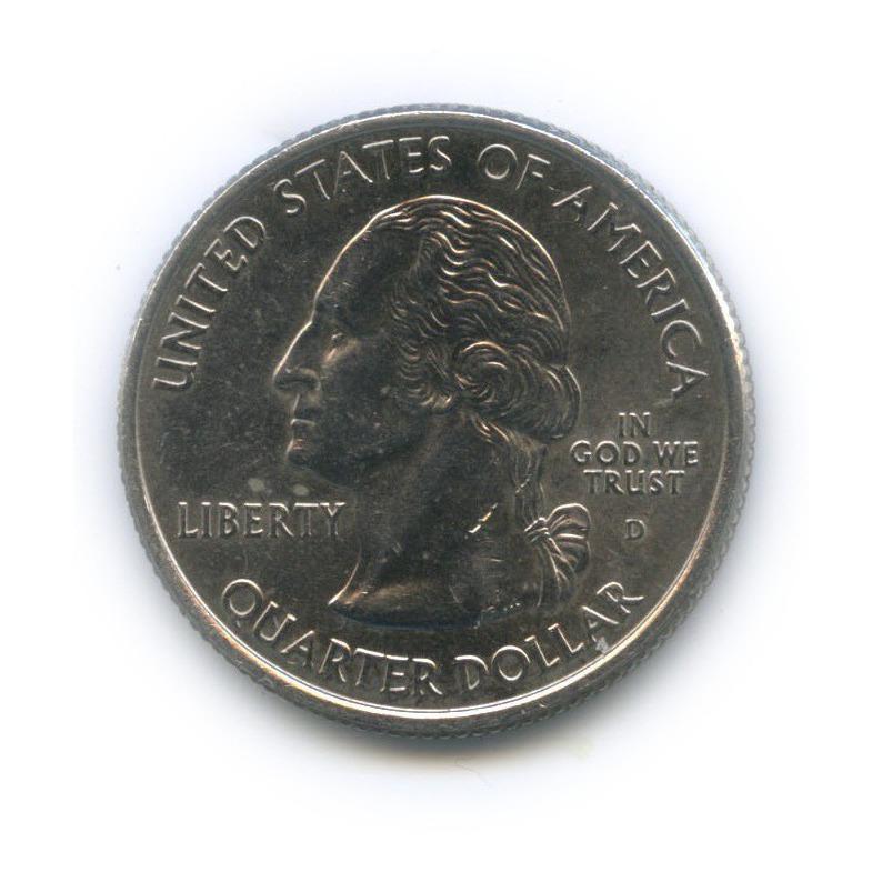 25 центов (квотер) — Квотер штата Южная Каролина 2000 года D (США)