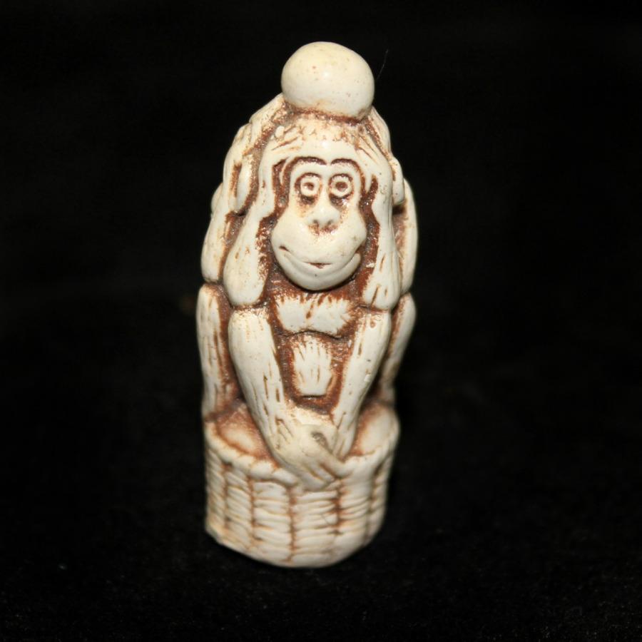 Фигурка-нэцкэ «Три обезьяны» (4,5 см)