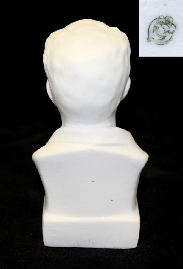 Бюст «М. Горький» (довоенное клеймо «ЛФЗ», 11,5 см) (СССР)