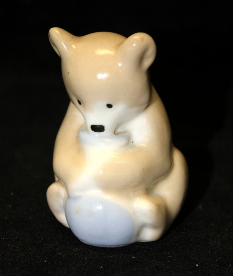 Фигурка «Медведь» (8 см) (СССР)